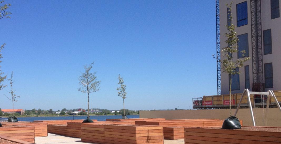 Musikhuskvarteret i Aalborg får maritimt taghavemiljø
